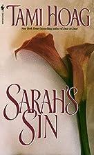Sarah's Sin by Tami Hoag