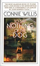 To Say Nothing of the Dog; or, How We Found…