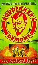 Boddekker's Demons by Joe Clifford Faust
