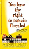 Hall, Parnell: You Have the Right to Remain Puzzled: A Puzzle Lady Mystery