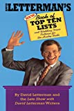 Letterman, David: David Letterman's Book of Top Ten Lists: and Zesty Lo-Cal Chicken Recipes