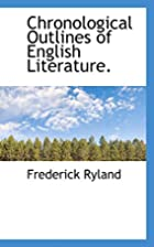 Chronological Outlines of English…