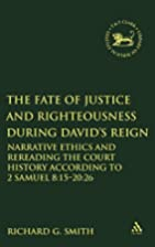 The Fate of Justice and Righteousness during…