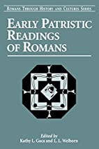 Early Patristic Readings of the Romans…