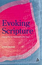 Evoking Scripture: Seeing the Old Testament…