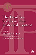 The Dead Sea Scrolls In Their Historical…