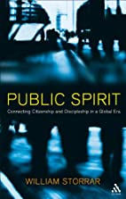 Public Spirit: Connecting Citizenship and…