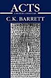 Barrett, C. K.: Acts of the Apostles: A Shorter Commentary (International Critical Commentary)