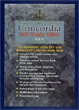 Robert G. Hoerber: Concordia Self Study Bible: Burgundy Bonded Leather With Thumb Index