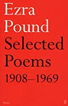 Selected Poems, 1908-69 by Ezra Pound