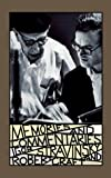 Stravinsky, Igor: Memories and Commentaries