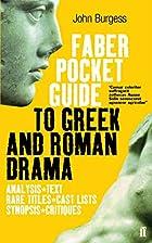 Pocket Guide to Greek & Roman Drama (Faber…