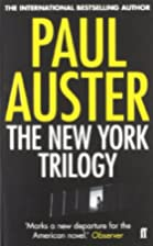The New York Triology by Paul Auster