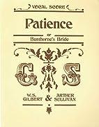 Patience by William Schwenck Gilbert
