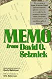 Behlmer, Rudy: Memo from David O. Selznick