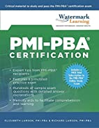 PMI-PBA Certification Study Guide by…