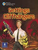 Waddell, Martin: Settings and Cliffhangers Year 3, 6x Reader 1 and Teacher's Book 1 (Pelican Guided Reading & Writing)