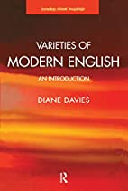 Varieties of Modern English: An Introduction…