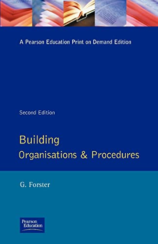 building-organisation-and-procedures-longman-technician-series