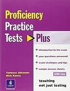 Practice Tests Plus CPE by N. Kenny