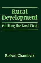 Rural development : putting the last first…