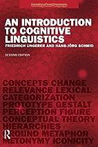 An Introduction to Cognitive Linguistics…