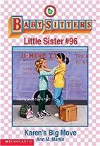 Karen's Big Move (The Baby-Sitters Club…