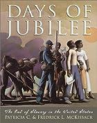 Days Of Jubilee by Pat McKissack