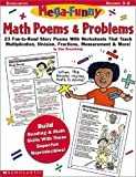 Greenberg, Dan: Mega-Funny Math Poems & Problems (Grades 3-6)
