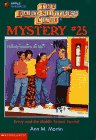 Martin, Ann M.: Kristy and the Middle School Vandal (Baby-Sitters Club Mystery)