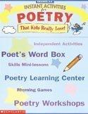 Instant Activities for Poetry (Grades 3-6)…