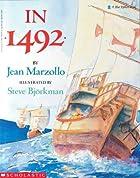 In 1492 by Jean Marzollo