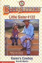 Karen's Cowboy (Baby-Sitters Little Sister)…