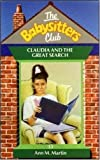 Ann M. Martin: Claudia and the Great Search (Babysitters Club)