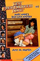 Mary Anne's Bad-Luck Mystery by Ann M.…