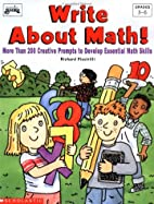 Write About Math (Grades 3-6) by Scholastic…