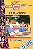 Martin, Ann M.: Poor Mallory!