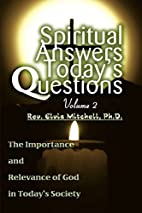 Spiritual Answers Today's Questions Volume…