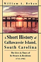 A Short History of Callawassie Island, South…