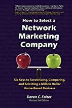 How to Select a Network Marketing Company:…