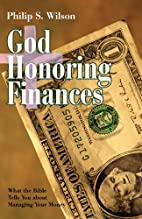 God Honoring Finances: What the Bible Tells…