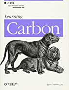 Learning Carbon by Apple Computer Inc