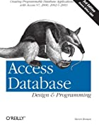 Access Database; Design & Programming by…