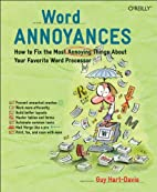 Word Annoyances: How to Fix the Most…