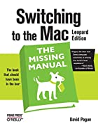 Switching to the Mac: The Missing Manual,…
