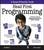 Head First Programming by Vern Ceder