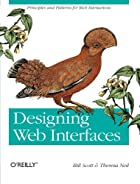 Designing Web interfaces by Bill Scott