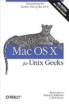 Mac OS X for Unix Geeks (Leopard) by Ernest…