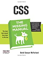 CSS: The Missing Manual by David Sawyer…