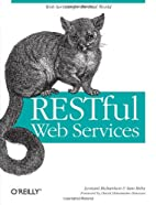 RESTful Web Services by Leonard Richardson